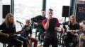 Ember Falls julkaisee levyn tänä syksynä. Yhtyeessä soittavat Jussi Laakso (oik.), Tuomas Välimaa, Olli Heino, Jussi Saurio, Kalle Laakso ja Mikko McMenamin (ei kuvassa).