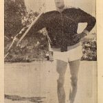Kuva Soini Nikkisestä Kuhmoisten Sanomissa 24.6.1956