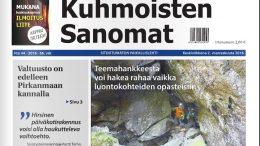 Kuhmoisten Sanomien 2. marraskuuta 2016 ilmestynyt numero on nyt luettavissa näköislehtenä verkossa.