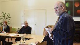 Kuhmoisten seurakunnan kirkkoneuvoston varapuheenjohtajana toiminut Risto Ojala on yksi uuden kappelineuvoston jäsenistä. Kuva Päivi Hotokka.