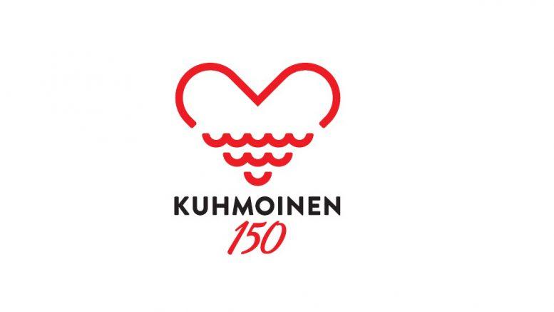 Uusi juhlavuoden logo yhdistää teemoja kunnan logosta ja vaakunasta. Suunnittelija on Pasi Korhonen Lahdesta.