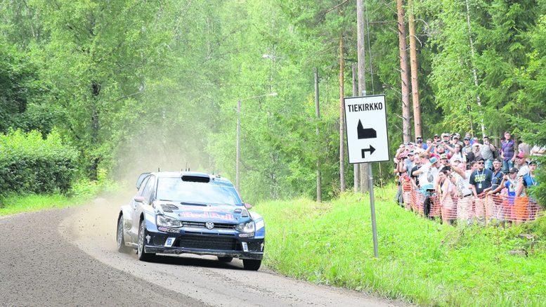 Kuhmoisten erikoiskokeet, myös kuvassa oleva Päijälä, ajetaan MM-rallissa tänä vuonna päinvastaiseen suuntaan viime vuoteen verrattuna. Kuva Tuomo Hyttinen.