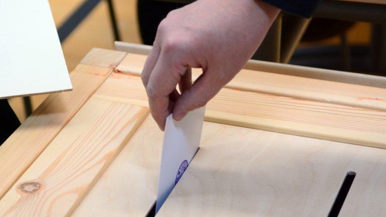 Kunnallisvaalien äänestys päättyi tänään. Uusi valtuusto aloittaa työnsä kesäkuussa. Kuva Anna Karhila