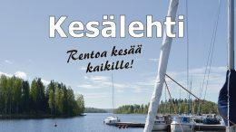 Kuhmoisten Sanomat toivottaa kaikille hyvää kesää! Taustakuva Tuija Käki-Lahtinen.
