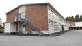 Yhtenäiskoulun A-rakennuksen sokkelit kaivettiin auki ja kuivatettiin jo kesällä. Kuva: Elina Syrjänen
